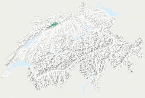 Karte Naturpark Thal