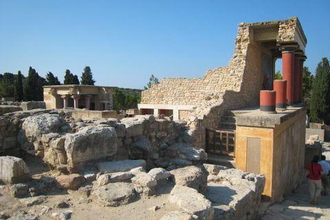 Die Palastruine von Knossos