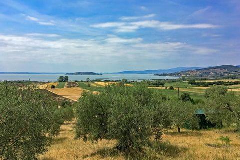 Blick auf den Trasimeno See