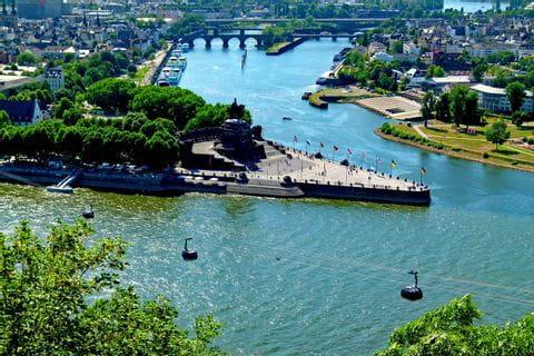 Dreiländereck Koblenz