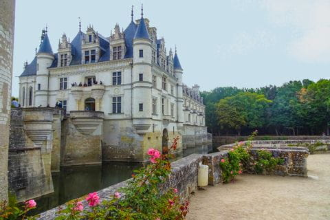 Schloss Chenonceaux am Loire-Radweg