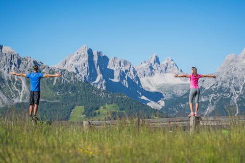 Unvergleichliche Ausblicke auf die Dolomiten