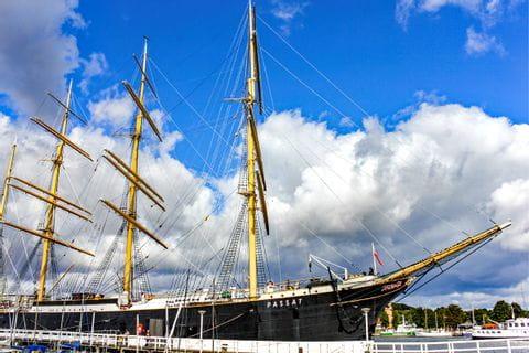 Segelschiff in Travemuende