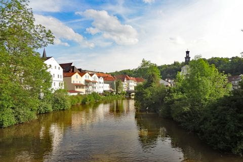 Wanderrouten entlang des Flusses Altmühl