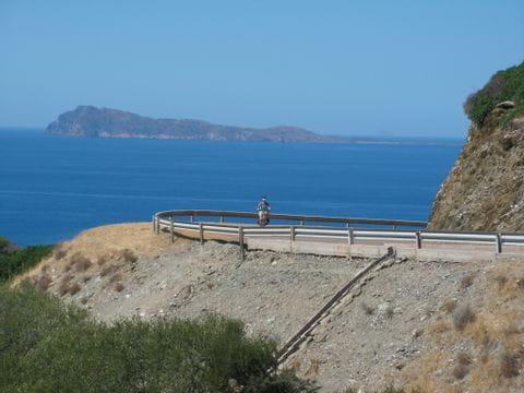 Aussicht auf Küste