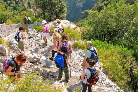 Erlebnisreicher Wanderpfard an der Amalfiküste