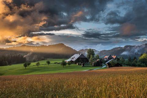 Wunderschöne Emmentaler Landschaft