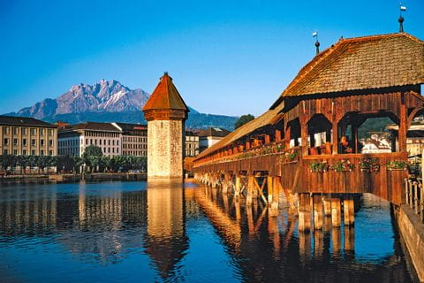 Brücke in Luzern