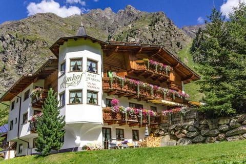 Reithof der Familie Trunk in Tirol