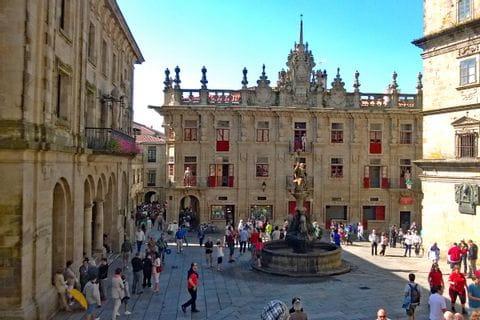Kulturplatz von Santiago de Compostela