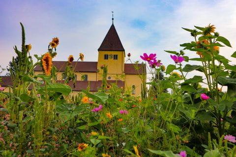 Church at the Reichenau Island
