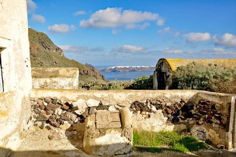 Wandergenuss in Santorin