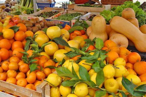 Zitrusfrüchte als Wanderstärkung in Frankreich