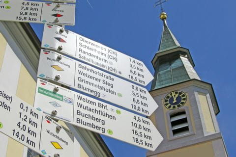 Hiking paths at Black Forest