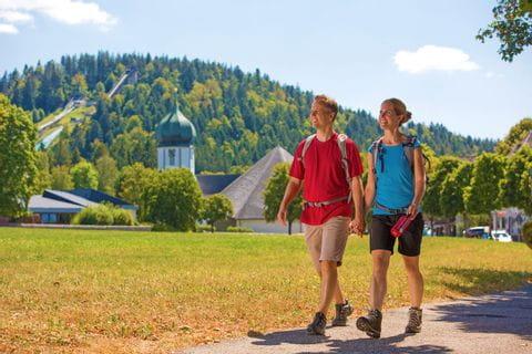 Hikers in Hinterzarten
