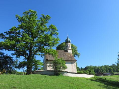 Kleine Kirche in der Nähe von Murnau