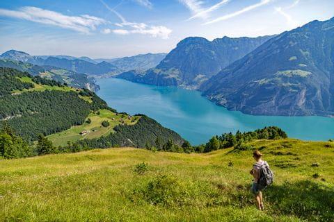 Unique view at Lake Uri