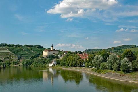 Radweg bei Gundelsheim