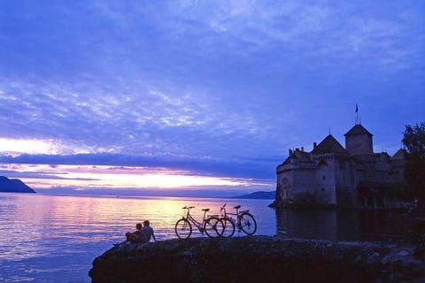 Stunning view at Lake Genf