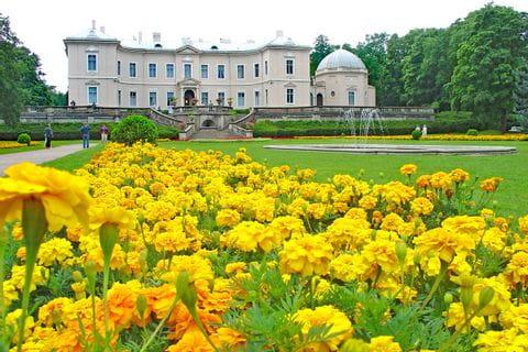 Bernsteinmuseum und Botanischer Garten in Palanga