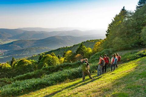 Wanderfreude bei wunderschönem Ausblick