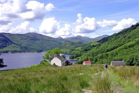 Wandertour zum Loch Lomond am West Highland Way