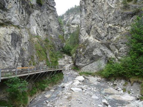 Schlucht in Tirol