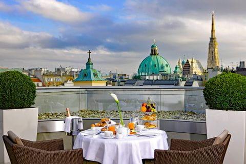 Blick auf die Stadt Wien