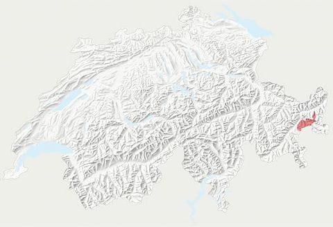 Karte Schweizerischer Nationalpark