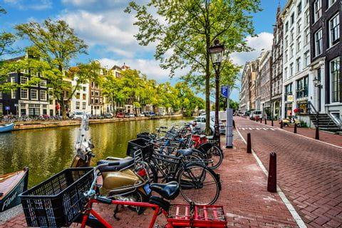 Bikes in Amsterdam