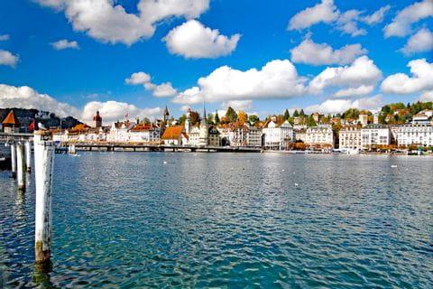 Wunderschoener See bei Luzern