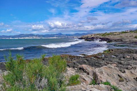 Küstenlandschaft von Playa de Palma
