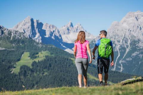 Traumhaftes Bergpanorama in den karnischen Alpen