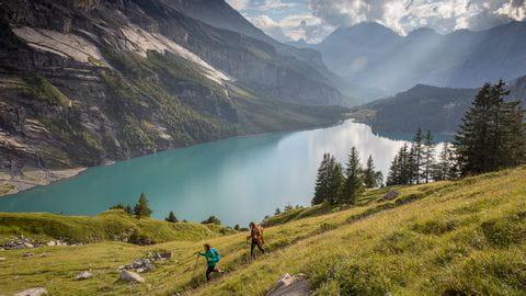 Via Alpina Bärentrek - Oeschinensee