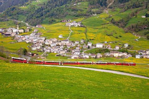 6 Graubünden-Route: Bernina Express