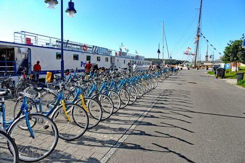 Fahrräder Ausgabe