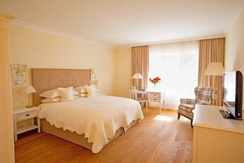 Zimmerbeispiel Hotel Pienzenau in Meran