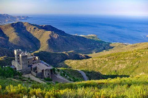 Wunderschöne Ausblicke auf S'Pere Roda und Meer