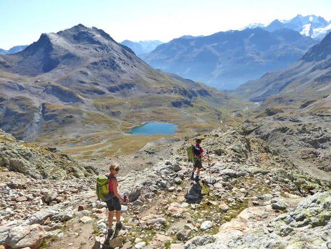 Beeindruckende Wanderung in der Schweizer Bergwelt