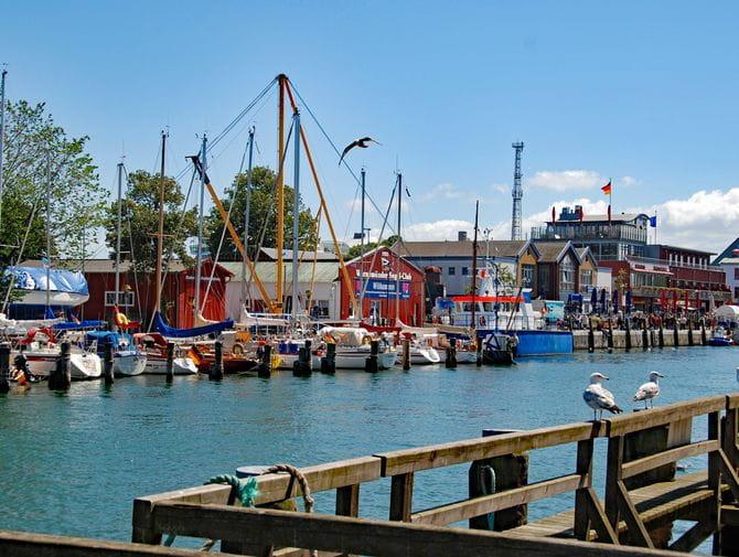 Hafen in Warnemünde