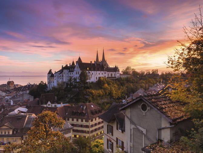 Schloss & Kirche Neuchâtel<br/>