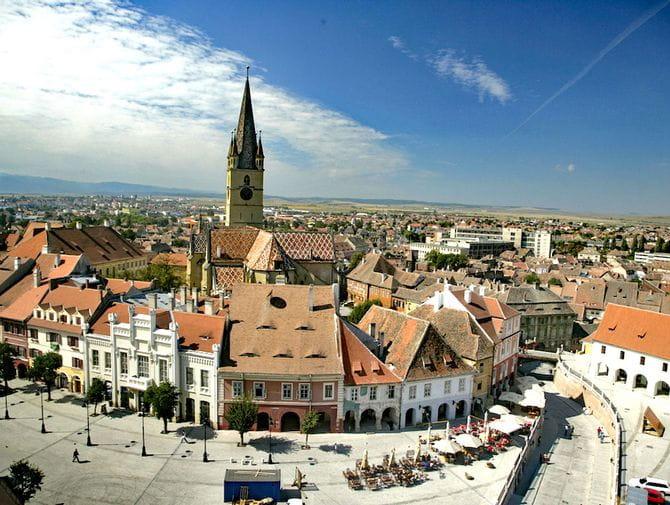 Charmante Altstadt in Sibiu