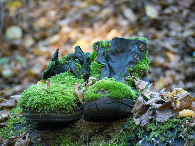 alte Schuehe