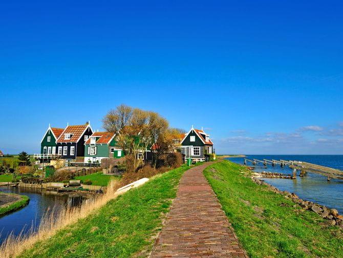 Alte holländische Häuser
