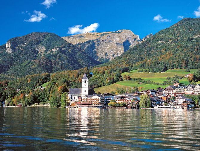 Genusswandern am Wolfgangsee mit Blick auf St. Wolfgang