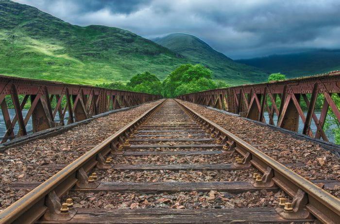 Eisenbahnschienen- Separateur